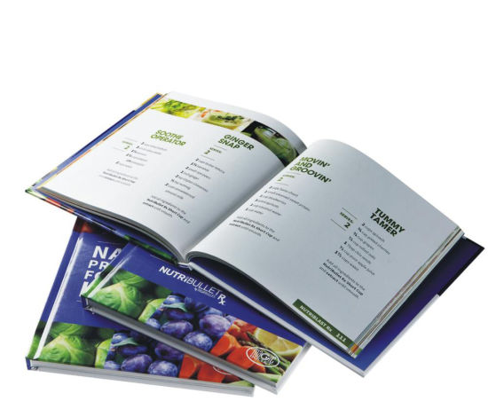 High Class Professional Hardcover Food Menu Cook Book Recipe Printing pictures & photos