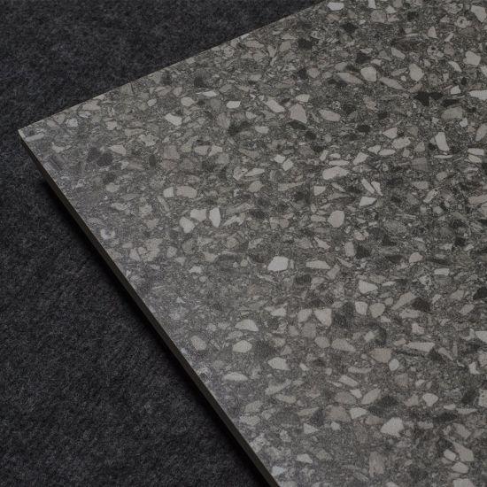 Gray Floor 60 60 Standard Square Size Terrazzo Tile Price