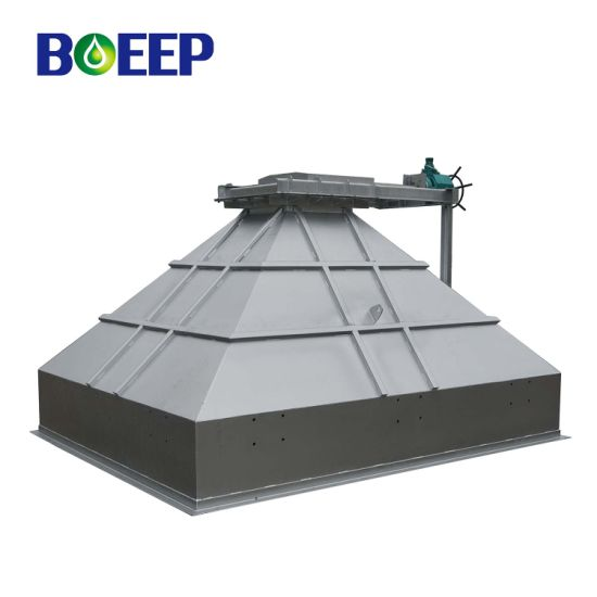 Automatic Mild Steel Sludge Cake Storage Hopper in Dewatering System