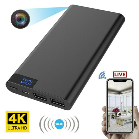 HD 1080P H11 Mobile Power Bank Camera Camcorder WiFi Battery Charger Camera
