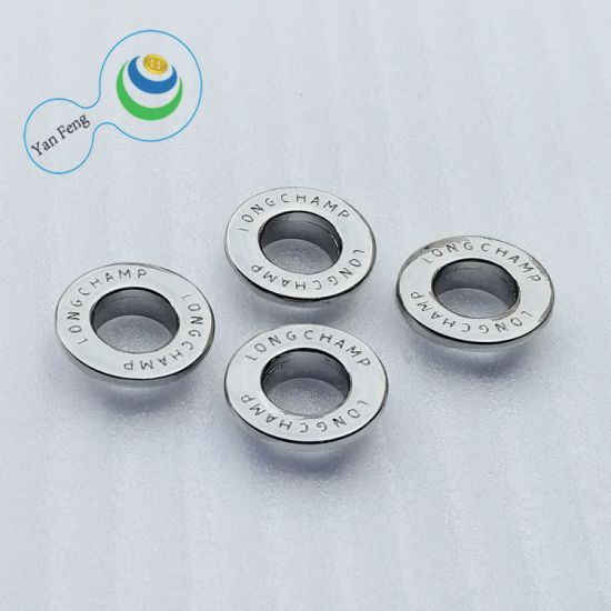 10mm Custom Alloy Metal Eyelet in Button for Shoes Clothings Bag (YF347-19)