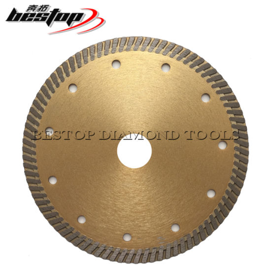 Diamond Disc Turbo Cutting Saw Blade for Granite Marble Stone and Concrete