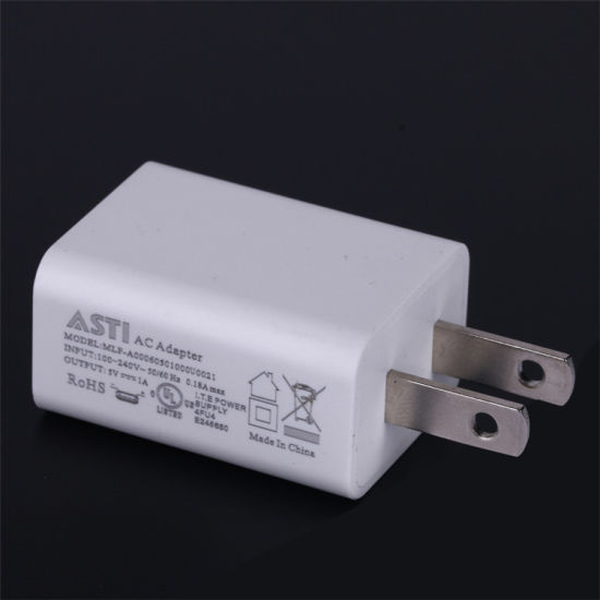 PSE/UL/ETL/FCC Approved Charger 5V1a/5V2a Impact Size and High Quality pictures & photos