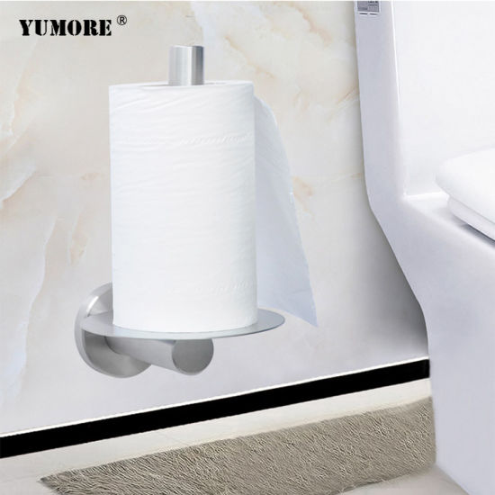 New Style Factory Price Hotel Bathroom Stainless Steel Tissue Towel Dispenser Toilet Paper Holder