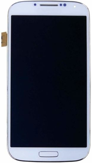 Mobile Phone LCD for Samsung Galaxy S4 (SIV) Sgh- I337 (AT&T) /Sgh-M919 (T-Mobile) Display Touch Screen Digitizer Assembly with Frame