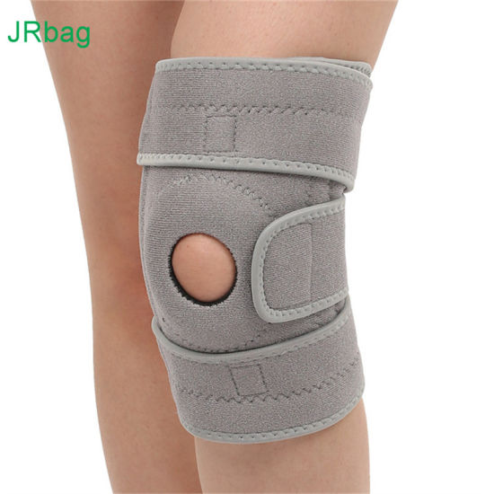 Customized Color Neoprene Gray Joint Knee Support for Sports