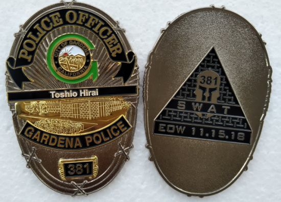 Custom Two Tone Finish Military U. S Government Metal Badge pictures & photos