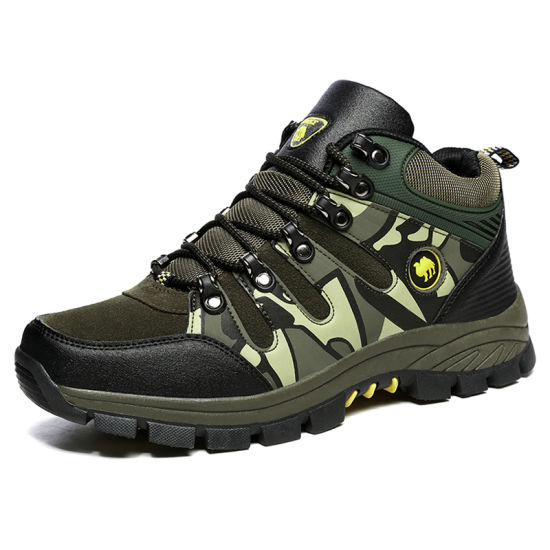 Supplier Wholesale New Outdoor Safety Waterproof Trekking Shoes for Men