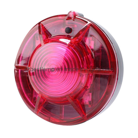 Red Flashing LED Bright Light Signal Safety Warning 12V Security Alarm Strobe