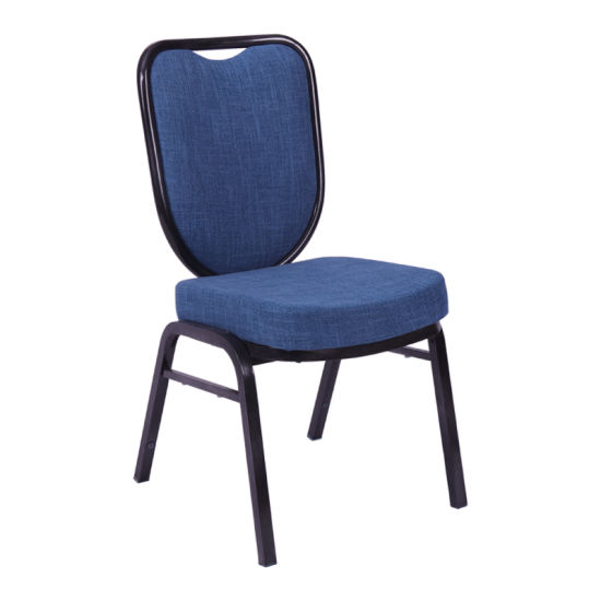 Hotel Banquet Event Conference Hall Furniture Wholesale Modern Metal Stackable Meeting Room Chairs