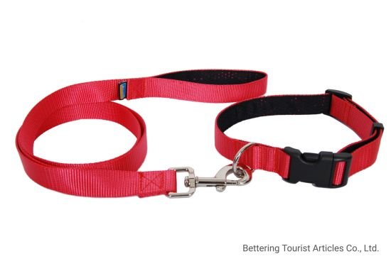 Dog Leash Simple Sof Red