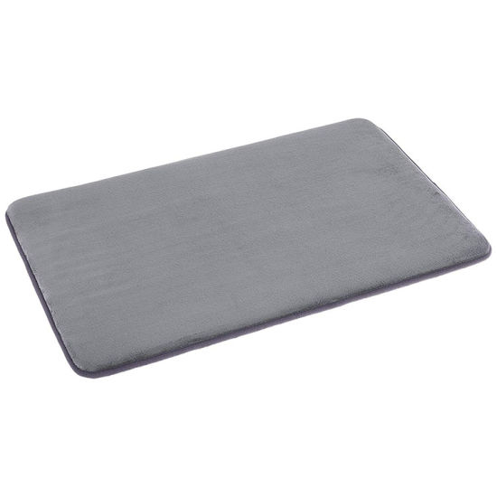 Memory Foam Anti Slip Mud Catcher Plain Door Mat (CHAKME)