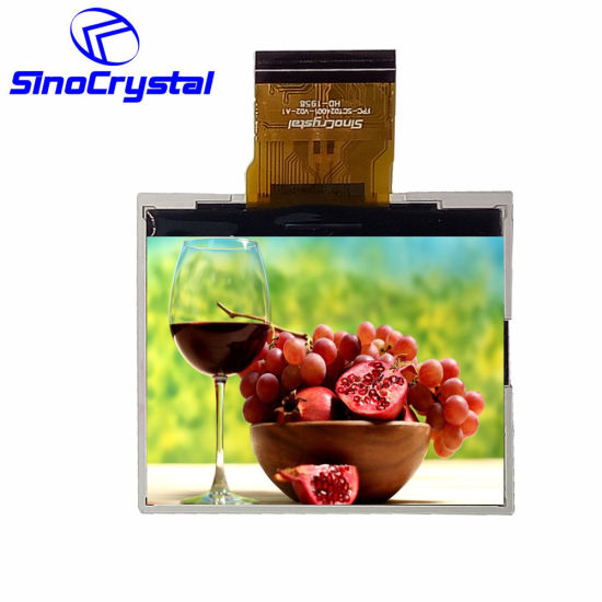 2.4 Inch 480X234 RGB TFT 8bit RGB Ota5182A Transmissive LCD Panel/Display/Module/Screen