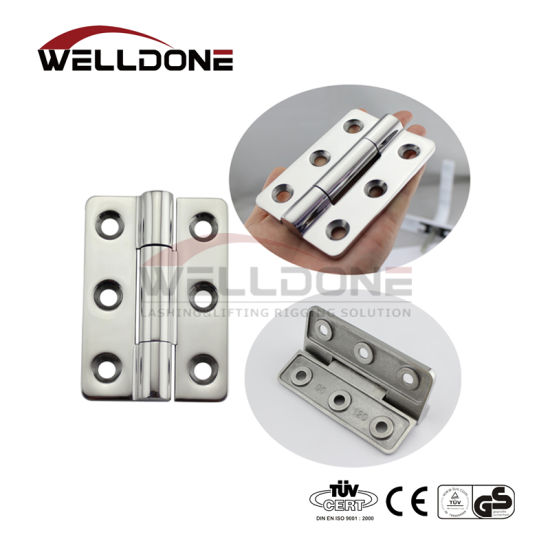 Marine Strap Hinge 6/'/' Well Made 4 Pieces Stainless Steel Cast Boat