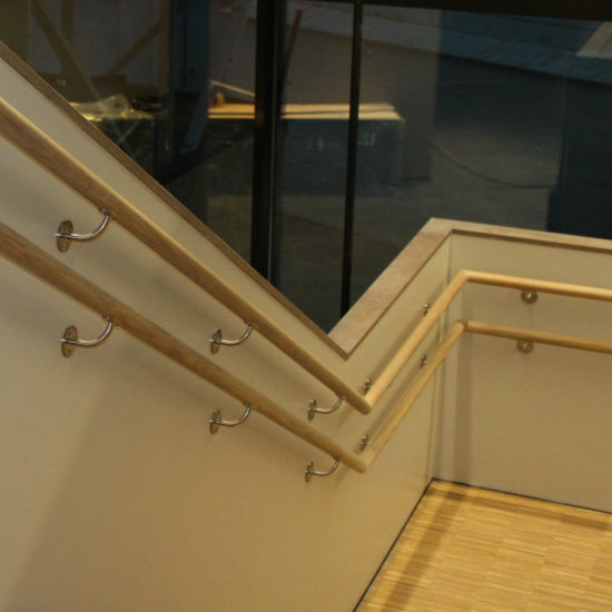 Indoor Ss Stair Handrail Brackets