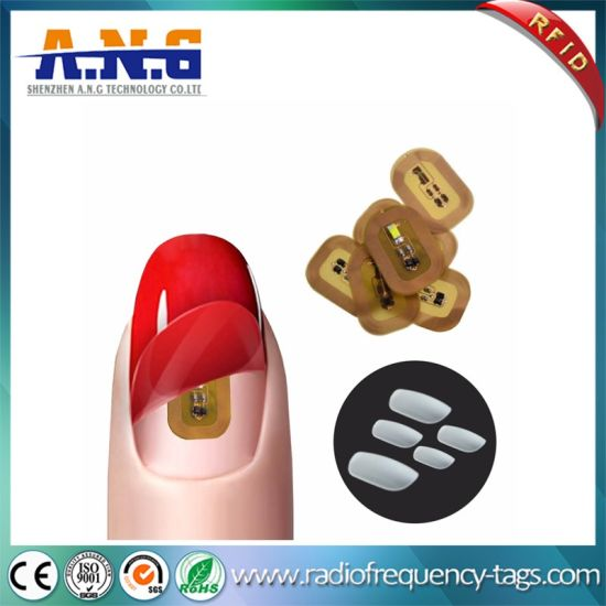 Hot Fashion NFC LED Lighting Smart Nail Sticker Without Battery pictures & photos