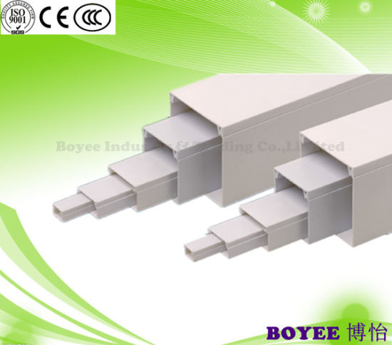 Different Sizes Pvc Electrical Wiring Cable Trunking Tray China Tray Electrical Trunking Made In China Com