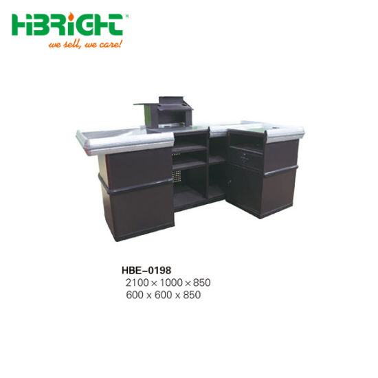 Good Design Wholesale Supermarket Shop Electronic Checkout Counter