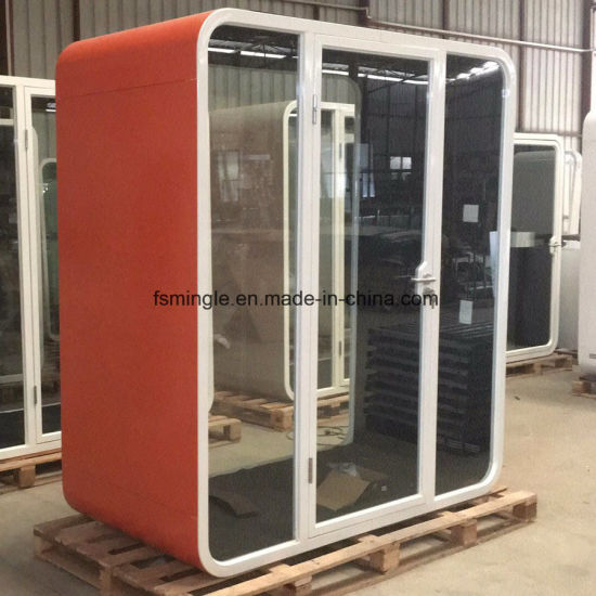 High Quality Customized Galvanized Steel Soundproof Meeting Pod/Office Phone Booth with Multi-Color