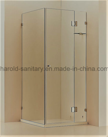 China Comfortable Hinge Open Corner Shower Cabin - China Shower Door ...