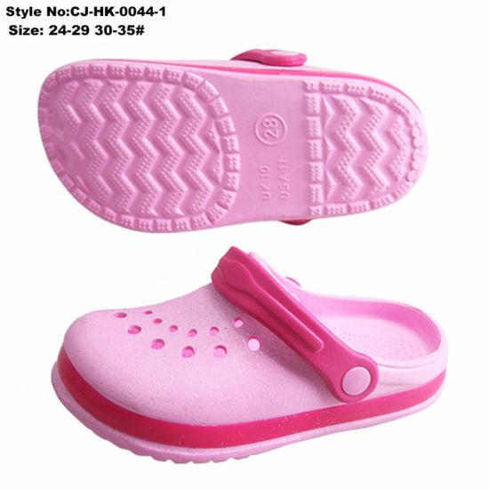 58c0b54983c463 China Kids Girls Clogs EVA Garden Shoes EVA Kids Clog Sandals ...