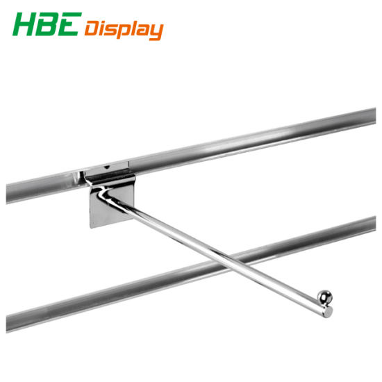 Supermarket Chromed Double Wire Display Hangers pictures & photos