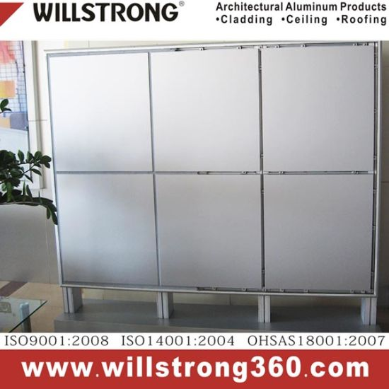 Aluminum Solid Panel Powder Coating for Curtain Wall pictures & photos