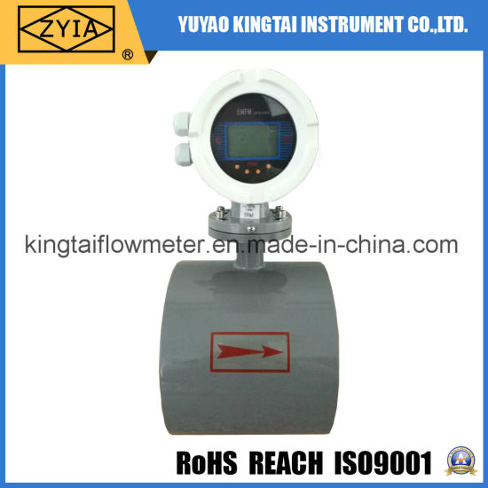 4-20mA Signal Output Electromagnetic Sewage Flow Meter