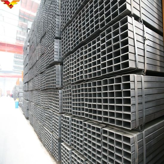 100X100 Ms Mild Steel Square Pipe Tube pictures & photos