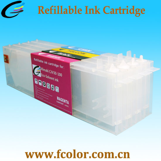 440ml Rechargeable Cartridge for Roland Printer pictures & photos