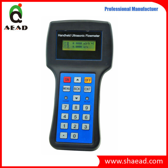 Handheld Clamp on Ultrasonic Flowmeter (A+E 80FB)