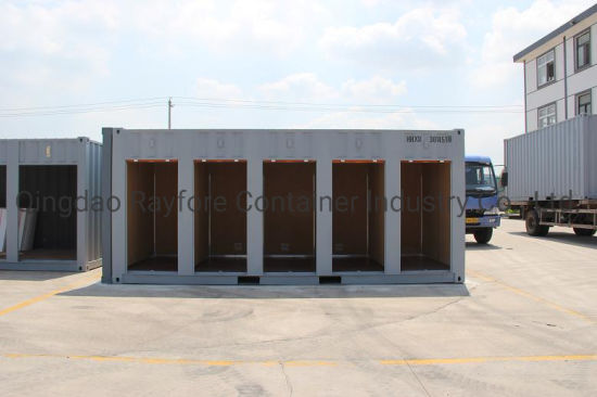 Qingdao Factory Customized Shipped to Europ and Japan 5 Shutter Roller Doors Storage Container