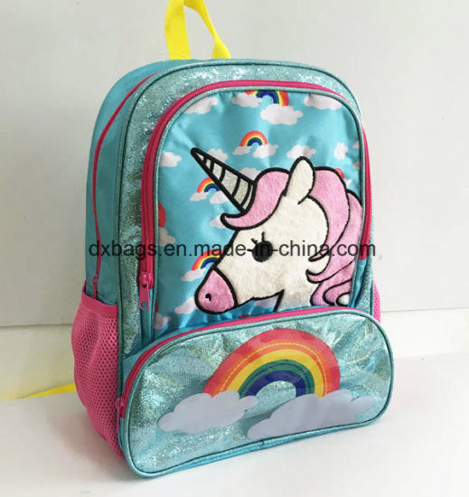 Unicorn Backpack Rainbow 3d Age S School Bag College