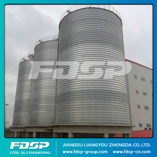 China Top Rating Grain Raw Material Silo Corn Storage Steel Silo pictures & photos