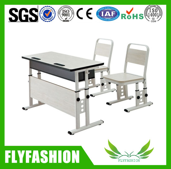 Double Student Desk and Chair (SF-58A) pictures & photos
