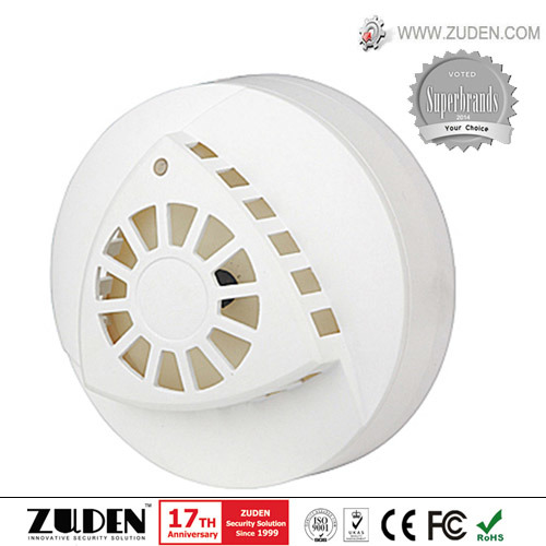 Wireless/Wired Home Security Photoelectricity Smoke Detector for Fire Alarm pictures & photos