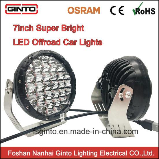 7inch Offroad Car LED Driving L& Super Bright Spot Light (GT1015-128)  sc 1 st  FOSHAN NANHAI GINTO LIGHTING ELECTRICAL CO. LTD. & China 7inch Offroad Car LED Driving Lamp Super Bright Spot Light ...