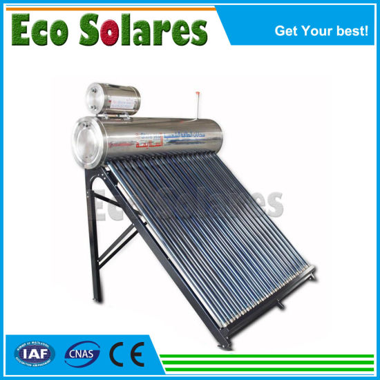 Stainless Steel Compact Pressurized Heat Pipe Solar Energy Water Heater Solar Collector Vacuum Tubes Solar Spare Parts Thermostatic Mixing Valve