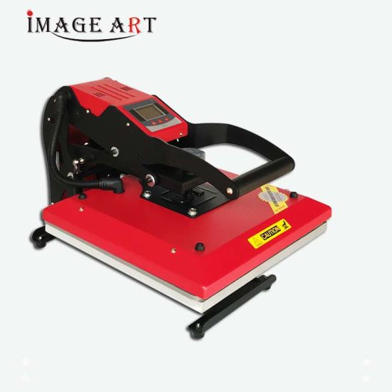 New Arrival LCD High Pressure Heat Transfer Heat Press Machine for T-Shirt Sublimation Printing (38X38cm)