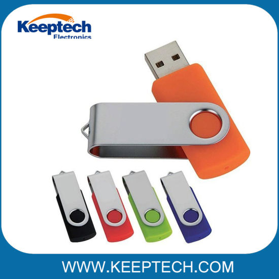 Swivel USB Flash Drive 16GB with Custom Logo