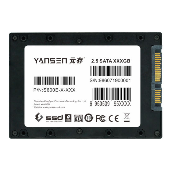 Extend Tempeturature Industrial Grade 2.5 Inches SATA3.0 Solid State Hard Drive Disk S600L-M-512 pictures & photos