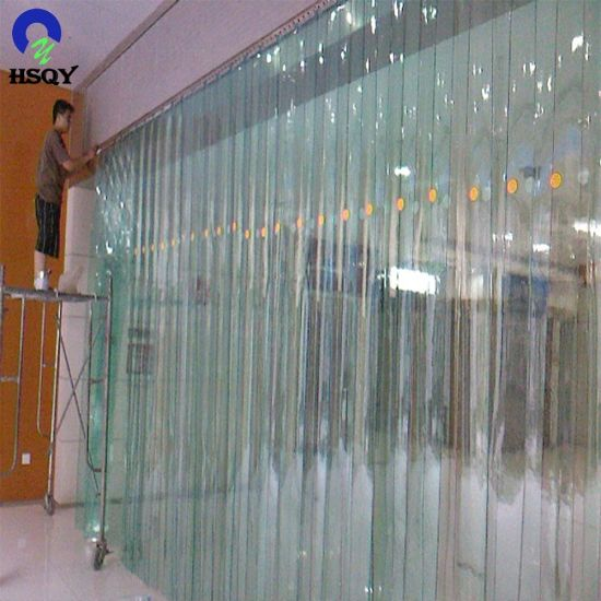 Excellent Waterproof Thin Soft PVC Sheet for Curtain