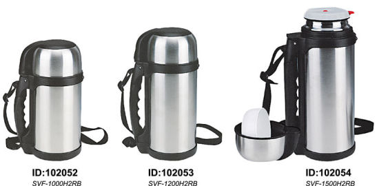 18/8 High Quality Stainless Steel Vacuum Flask/Thermos Flask Svf-1000h2rb/1200h2rb/1500h2rb pictures & photos