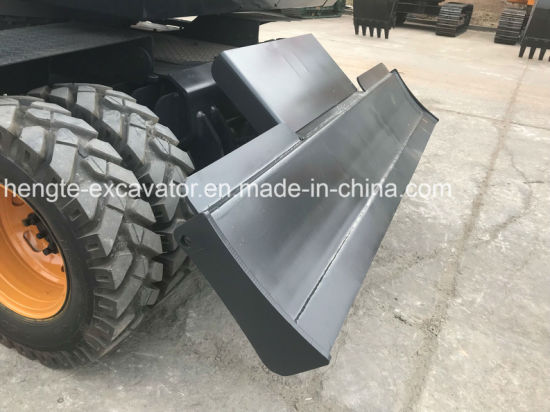 Wheel Excavator Moving Type 7 Tons Wheel Excavator Ht75W for Sale pictures & photos