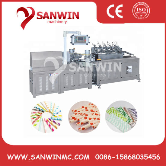 High Speed Multi Cutters Paper Straw Machine pictures & photos