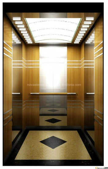 China Passenger Elevator With Luxury Decoration Cabin China