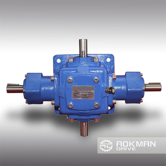 Good Quality Aokman T Series Spiral Bevel Gearbox/Gear Unit pictures & photos