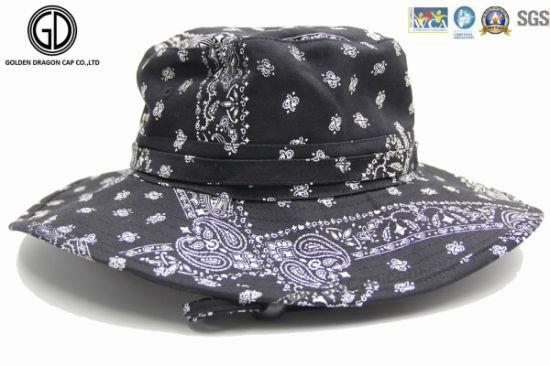2016 Fashion Lady Sun Bucket Hat with Heel Rope