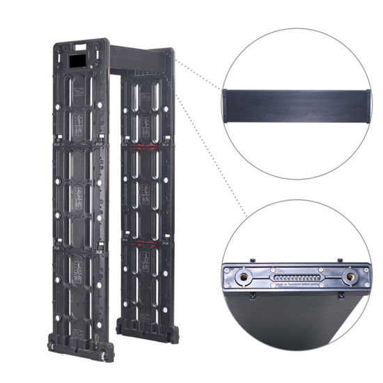 Phone APP Control Portable Metal Detector Gate with Long Time Power Supply pictures & photos