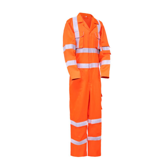 OEM Cheap Reflective Construction Coverall Hi Vis Safety Workwear pictures & photos
